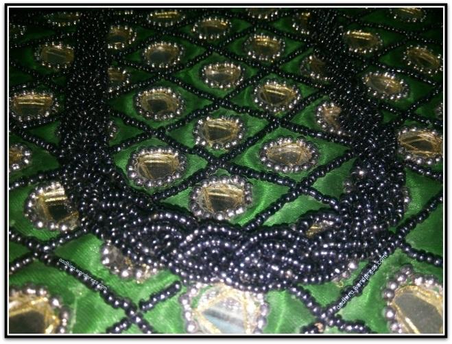Beads on a bag