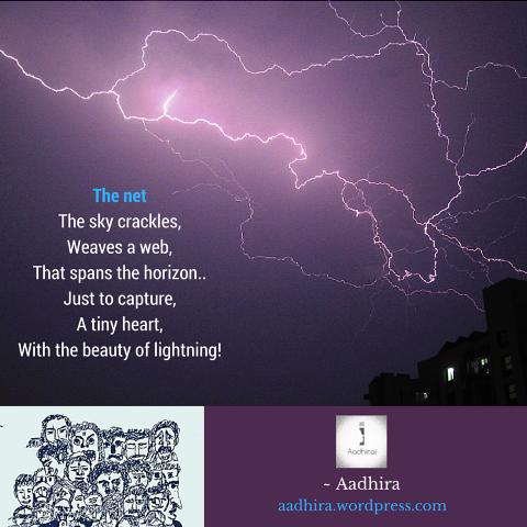 Caught in a lightning!