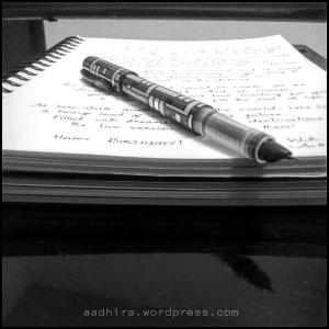 Pen over Paper